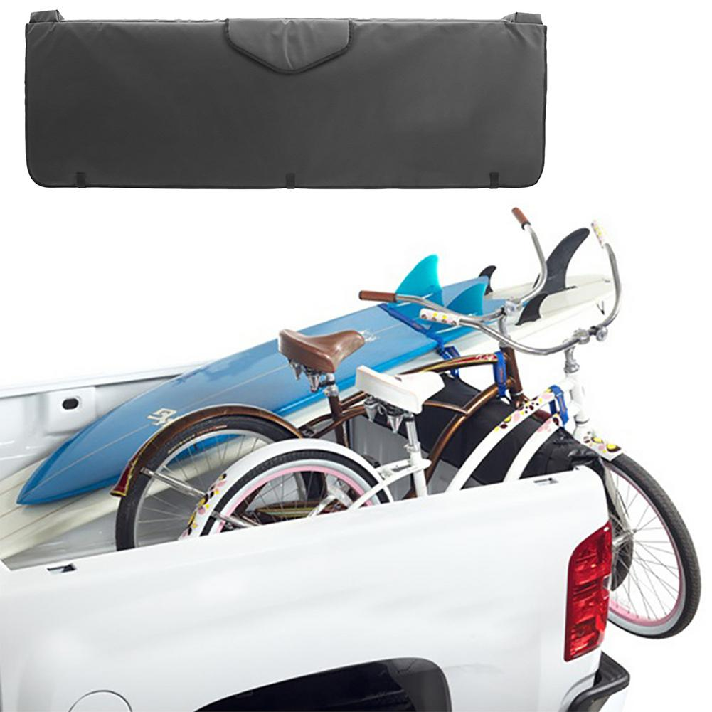 Truck Tailgate Pad Bicycles Rear Fixed Protective Tail Cushion Bike Tailgate Cover Protection Pad MTB Pick-up Pad Accessories