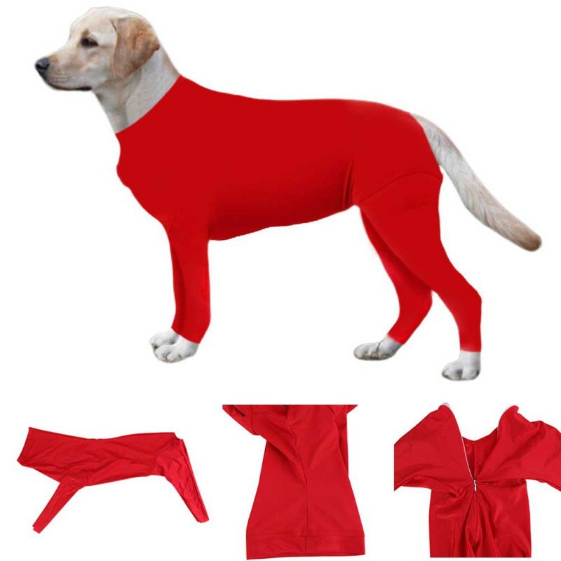 Pet Dog Anti-hair Loss Elastic Tights Clothes Puppy Clothing Anti-Losing Fur Operative Protection Long Sleeves Pets Products