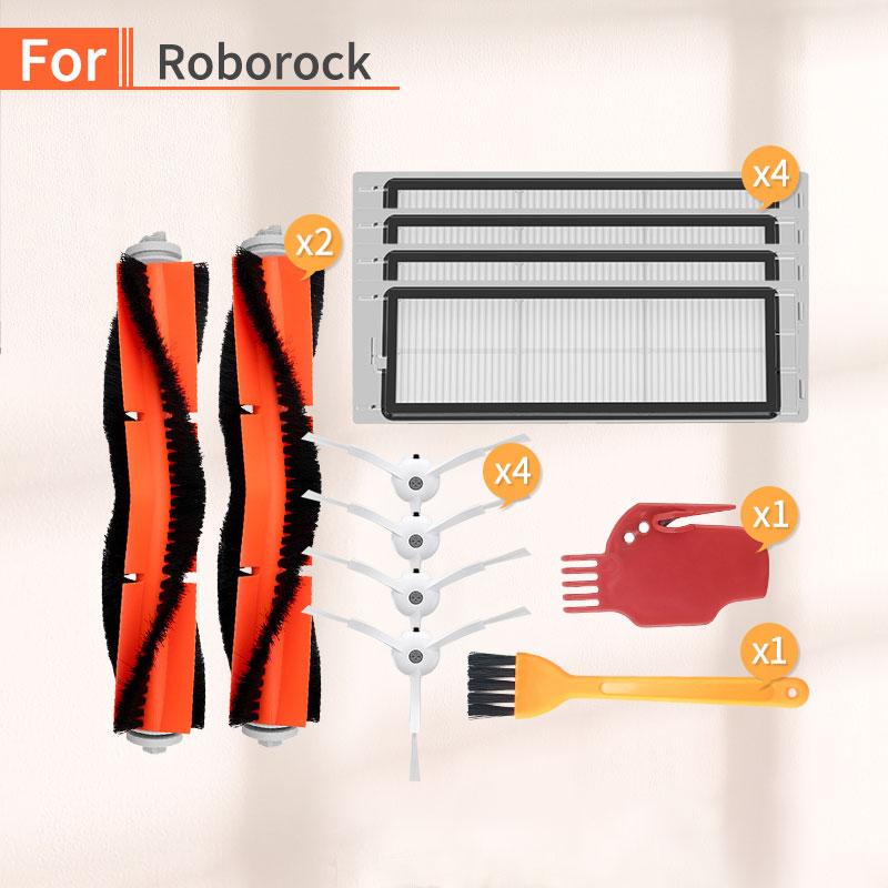 روبوت المكنسة الكهربائية ملحقات المنزل الرئيسية الجانب فرشاة هيبا تصفية عدة ل شاومي Mijia Mi 1 S 2S Roborock s50 s51 s6 S55 الغيار