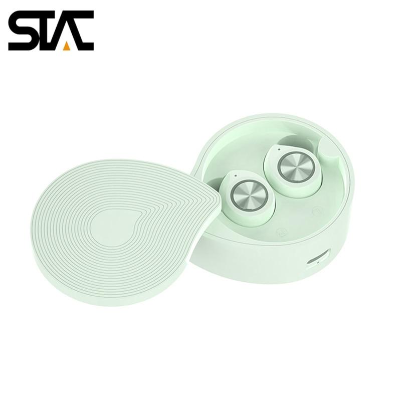 TW70 Earphone Bluetooth 5.0 Headphone Wireless HIFI Sound Stereo Waterproof Sport Earbuds Macaron Color Super Mini Design enlarge