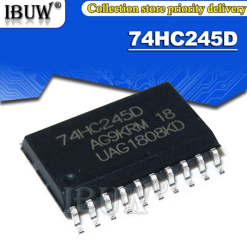 100PCS SN74HC245D SOP10 74HC245D SOP-10 74HC245 SOP