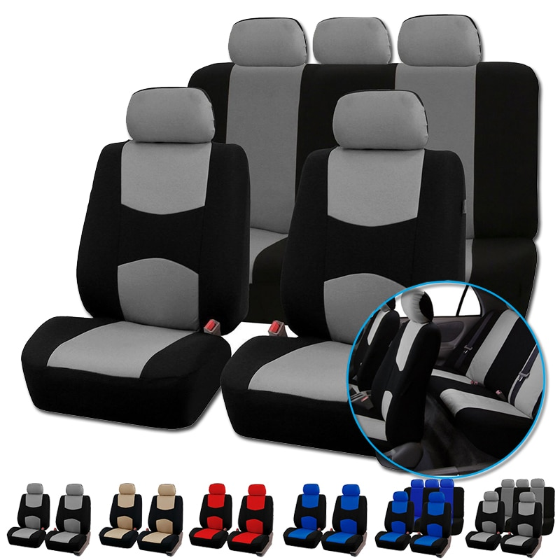 AUTOYOUTH Automobiles Seat Covers Full Car Seat Cover Universal Fit Interior Accessories Protector C