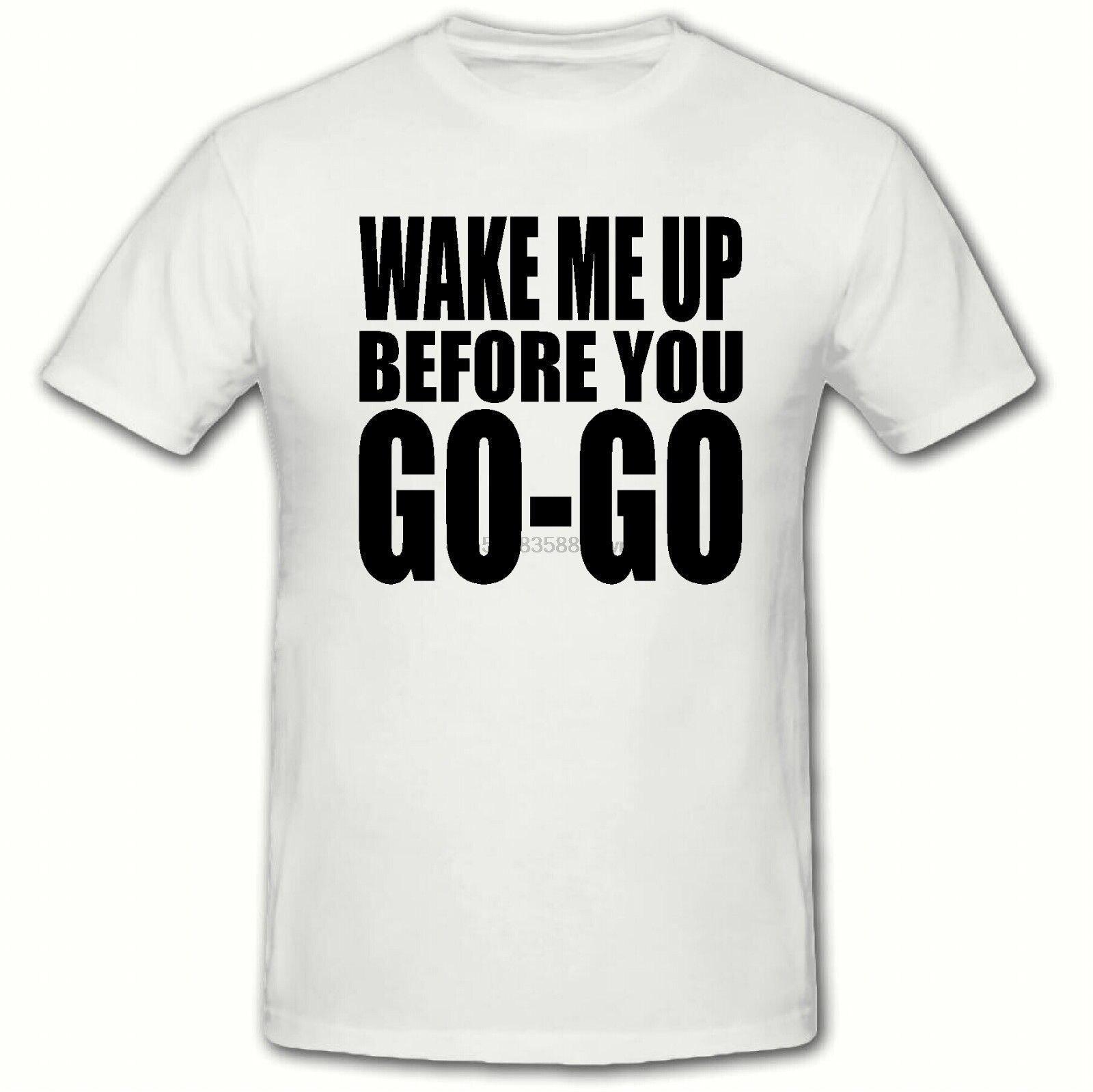Wake Me Up antes de ir a ir, camiseta Wham 80 George Michael Choose Life concierto