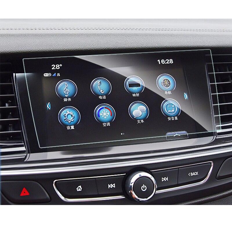 Для Buick Regal 2015-2020 автомобильный навигационный экран защитная пленка из закаленного стекла аксессуары для салона автомобиля