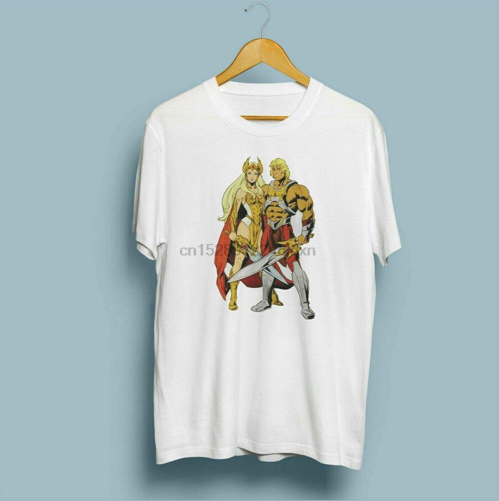 He-Man She-Camiseta ra Power Of Greyskull mujer hombres Unisex camiseta algodón nuevo Unisex camisetas divertidas camiseta