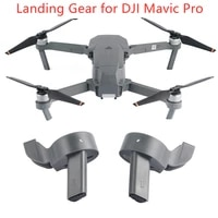 height extended rear landing gear for dji mavic pro heighten protector quick release tall back leg feet drone accessories