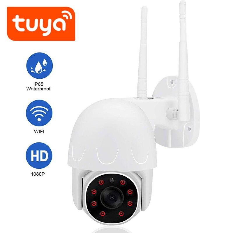 QZT تويا في الهواء الطلق الأمن كاميرا واي فاي اللاسلكية PTZ IP كاميرا في الهواء الطلق IR الأشعة تحت الحمراء للماء CCTV فيديو كاميرا مراقبة 1080P