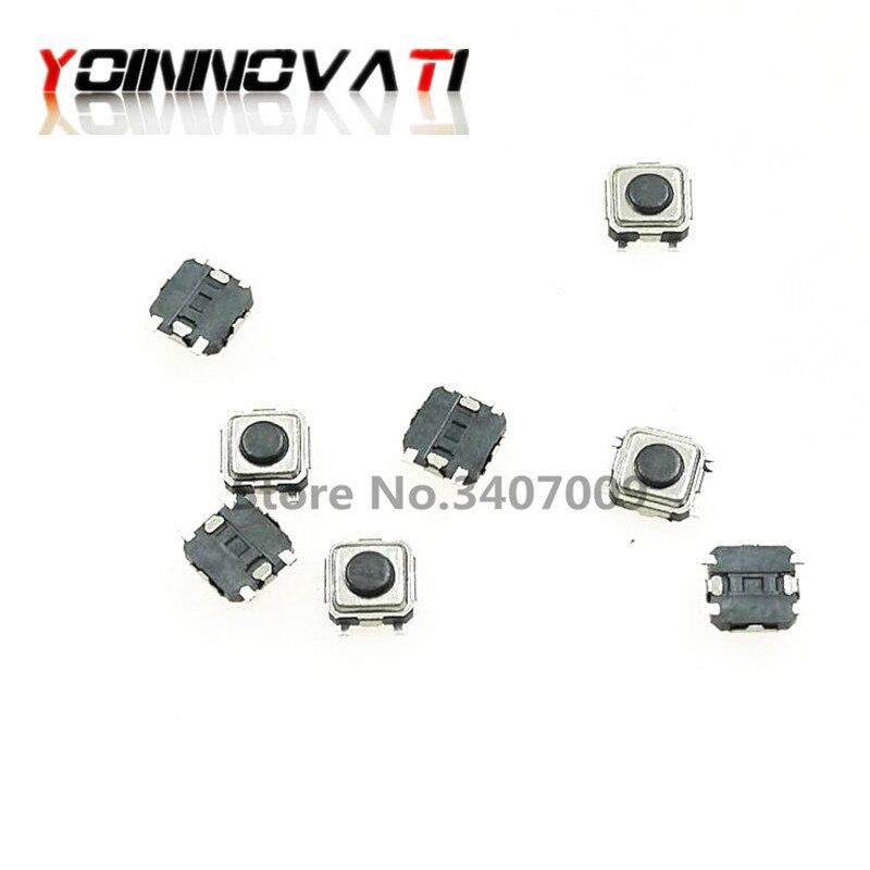 20 pces 3*3*1.5mm 3x3x1.5mm 3x3x1.5h tátil botão interruptor tato 4 pinos micro interruptor smd