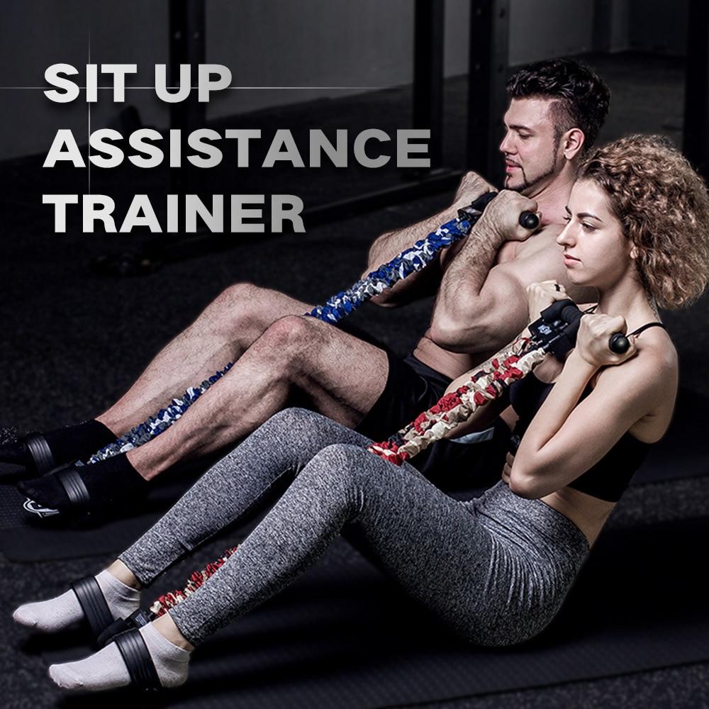 INNSTAR ajustable banda de asistencia para el pecho expansor de la resistencia de la aptitud brazo elástico que estira la cuerda del Pedal del pie tubo de entrenamiento