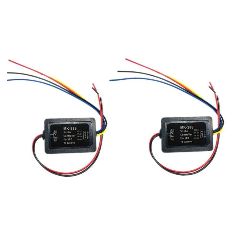 Пара 3-ступенчатое последовательного потока полу динамический Chase Flash Light Хвост светильник Модуль Коробки автомобильный сигнал поворота кон...