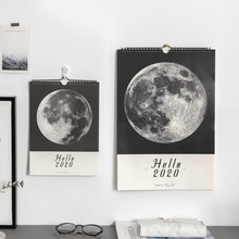 JIANWU Marmor Planet stil 2020 Kalender DIY Mond wand Kalender Täglichen Zeitplan 2019 Planer Täglichen Jährlich Agenda Organizer