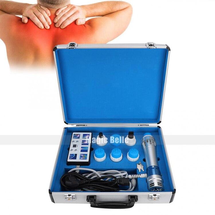 Máquina extracorpórea de ondas de choque, equipo de fisioterapia ESWT para tratamiento ED, reducción de celulitis