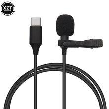 Mini Microfoon Mic Usb C Type-C Mic Condensator Audio Opname Voor Huawei Xiaomi Samsung Android Telefoon Usb C microfoon
