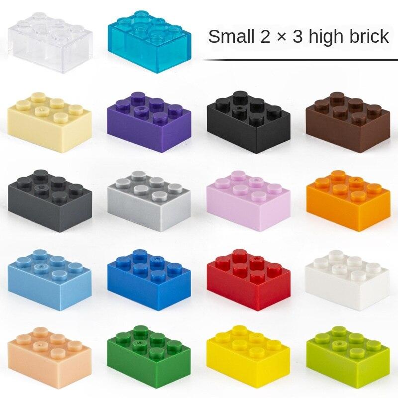 Moc tijolo criativo 2x3 3002 diy noções básicas educacionais blocos de construção conjuntos em massa compatível monta acessórios partículas crianças brinquedo
