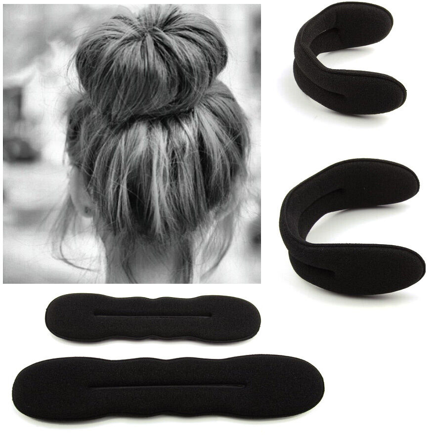Magic Sponge Clip Foam Donut Hair Styling Bun Curler Maker Ring Twist Tool
