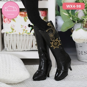 BJD Doll shoes apply to 1-3 size  sdminifee fashion high boots leather shoes, high heels doll accessories