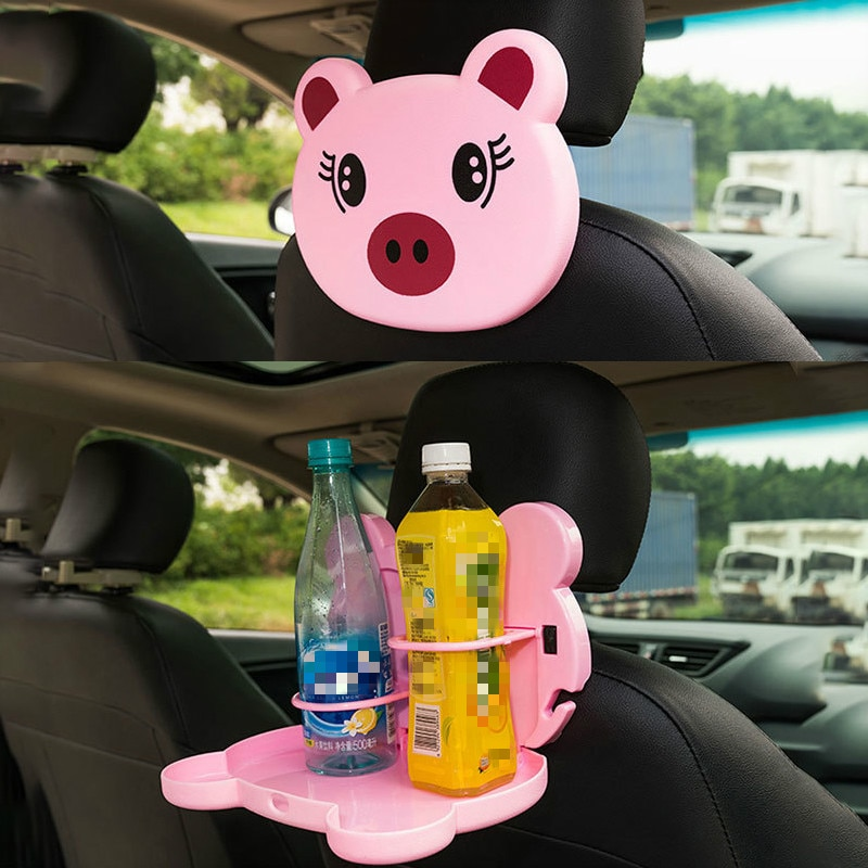 Baby Dinner Plate for Car Accessorie Feeding Food Tableware Cartoon Bear Children Dishes Eating Dinnerware Kids Anti-fall Dishes