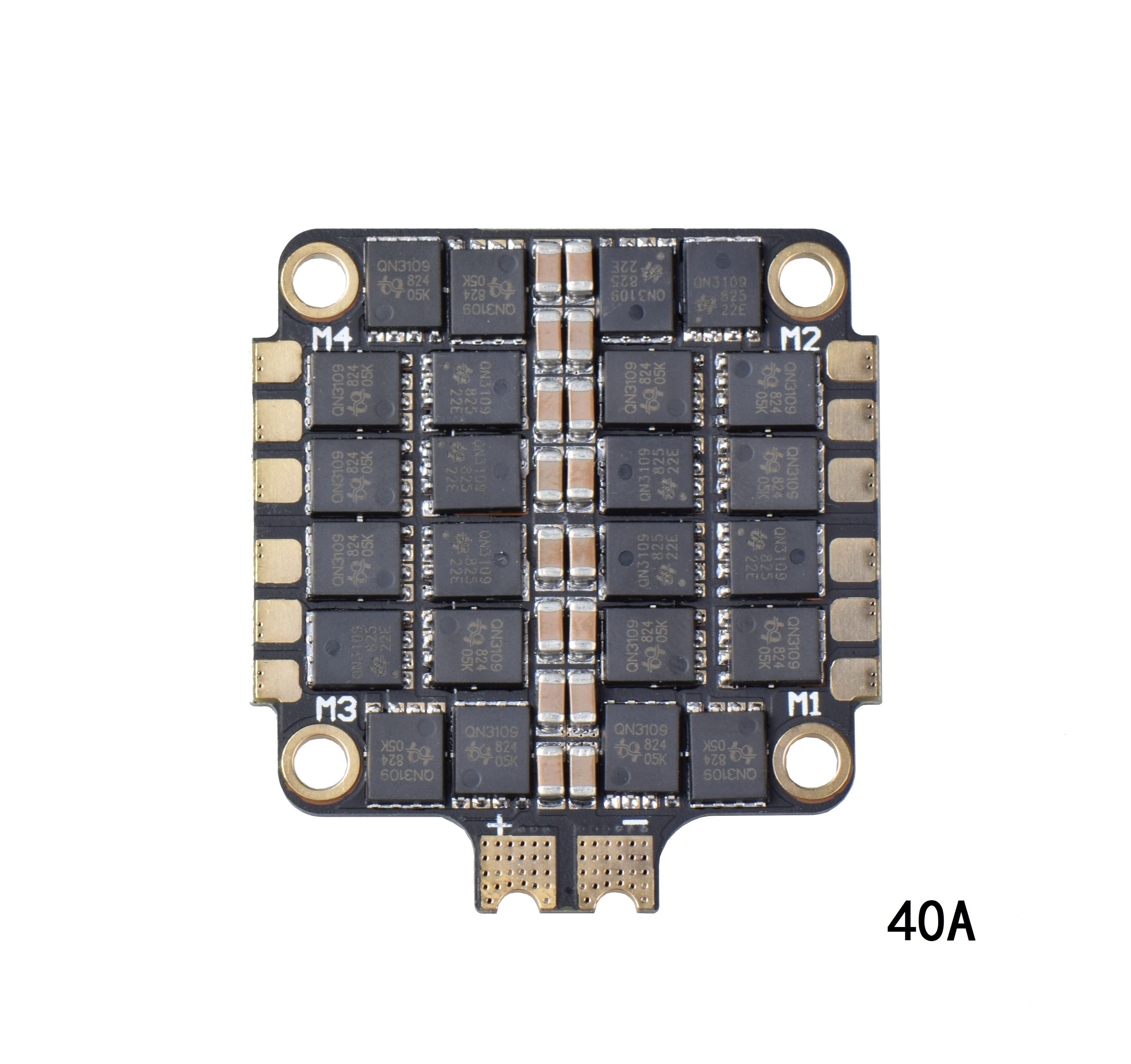 40A/55A 2-6S 4 en 1 ESC BLHeli_S ESC controlador de velocidad placa soporte Dshot150 Dshot300 Dshot600 para FPV RC Racing Drone