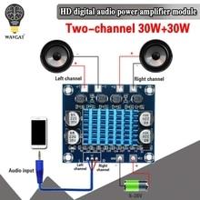 Placa amplificadora de potencia TPA3110 XH-A232, 30W + 30W, 2,0 canales, Audio estéreo Digital, DC 8-26V, 3A, C6-001