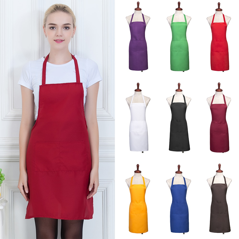 solid-functional-professional-anti-oil-plaid-bib-home-apron-available-for-chef-cooks-butchers
