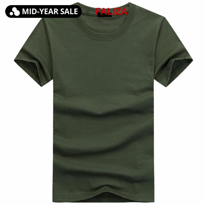 Heißer Verkauf Hohe Qualität Mode Herren T Shirts Kurzarm T-shirt Mens Feste Beiläufige Baumwolle T Shirt Sommer Kleidung 5XL TX112