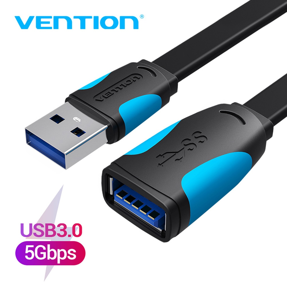 Vention USB 3.0 Extension Cable Male to Female Extender Cable Fast Speed USB 3.0 Cable Extended for laptop PC USB 2.0 Extension