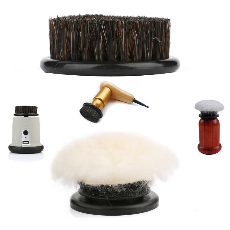 Kit de repuesto para cepillo para zapatos eléctrico, accesorios para boquillas, Cerdas...