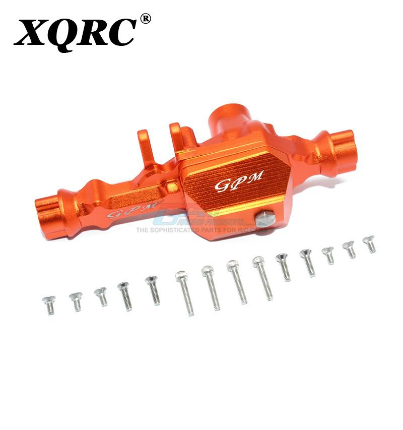 XQRC Aluminum alloy front wave box trx4 front axle, used for upgrading parts of 1 / 10 RC tracked vehicle traxxas trx-4 TRX 4 enlarge