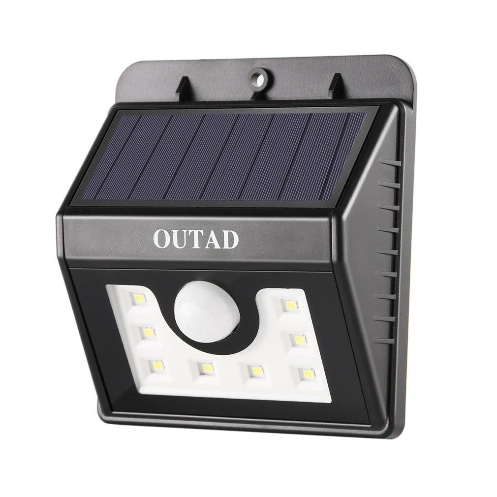 Outdoor Solar Ligh Solar Wall Lamp Waterproof PIR Motion Sensor Garden Light Solar Powered Sunlight Street Light Outdoor Lightin