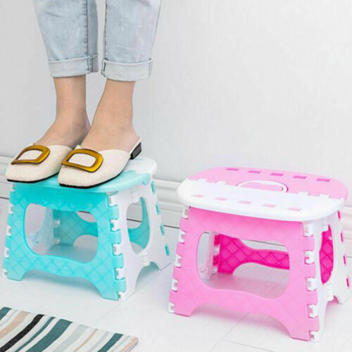 High Quality Folding Step Stool Super Strong Stepping Stools Premium Heavy Duty Foldable Stool For Kids  Garden Bathroom