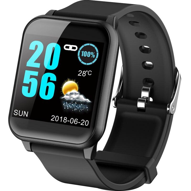 Умные часы Z02, цветной экран, спортивный шагомер, пульсометр, Push Message, умные часы для Android, фитнес-трекер, браслет