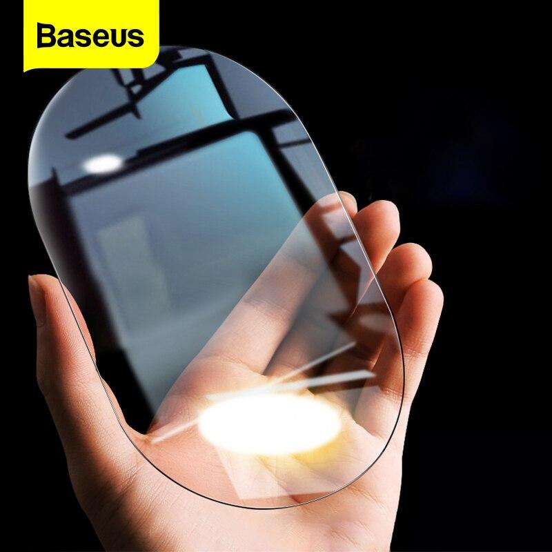 Baseus 2Pcs Car Rearview Mirror Rainproof Film 0.15mm Clear Rear View Mirror Anti Fog Protective Fil