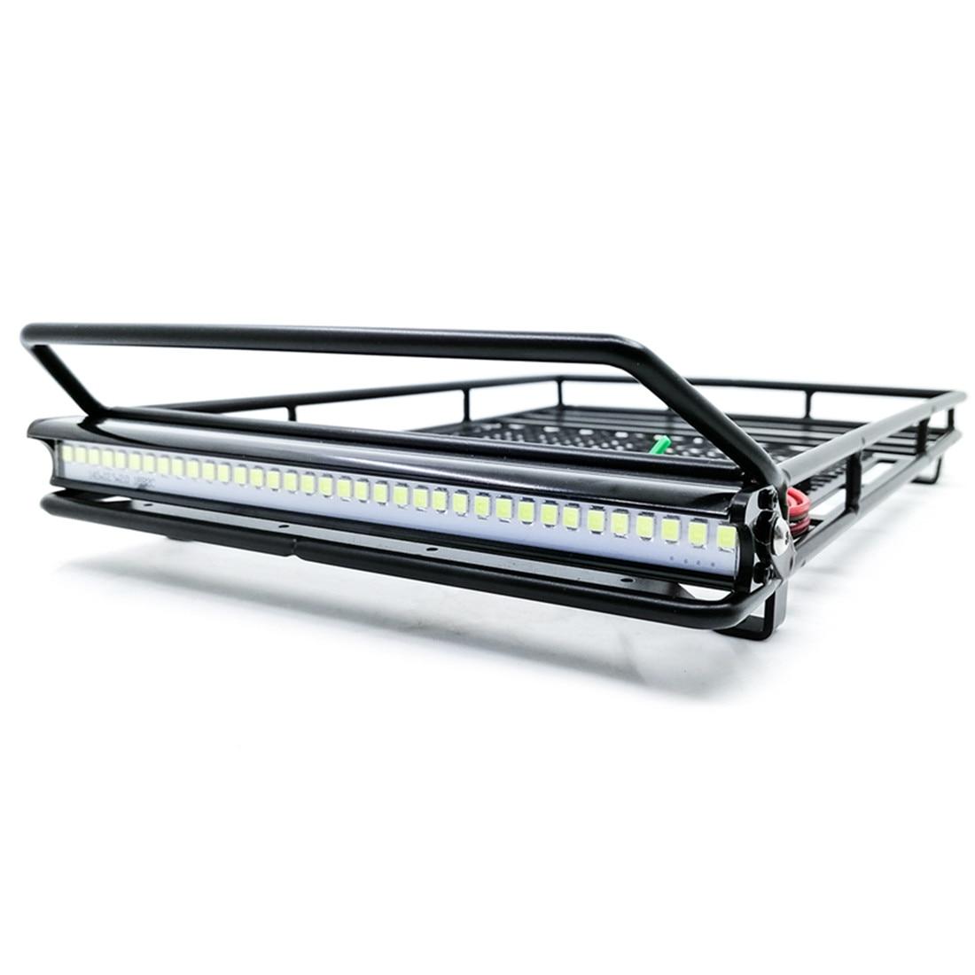 Portaequipajes para techo de Metal con 36 LED de barra de focos...