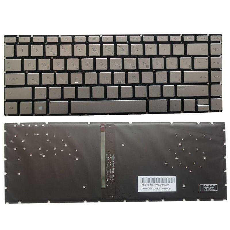 RU/الروسية لوحة المفاتيح لابتوب HP بافيليون 14-BS 14M-BA 14-BW 14G-BR 14-BP 14T-BA 14M-BA 14-BA 240 G6 245 G6 246 G6 الخلفية
