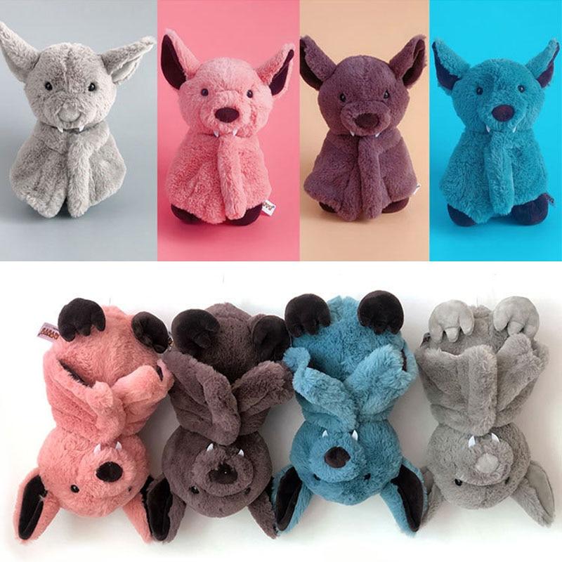 Креативная мультяшная плюшевая игрушка летучая мышь темный эльф Милая летучая мышь детская мягкая индивидуальность с сном история плюшева...