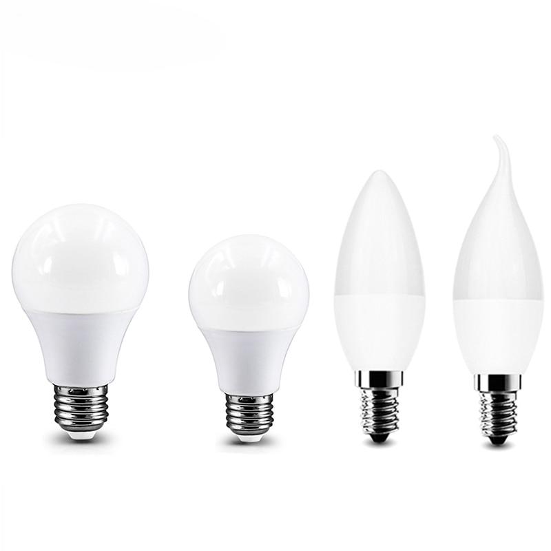 Bombilla LED para lámpara E27 Real potencia 3W 6W 9W 12W 15W...