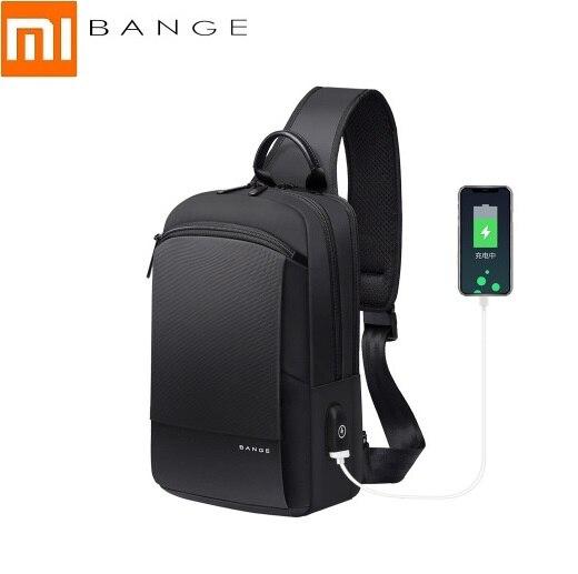 Xiaomi-حقيبة كتف رجال الأعمال متعددة الوظائف ، حقيبة سفر من قماش أكسفورد ، حقيبة صدر ، موضة جديدة