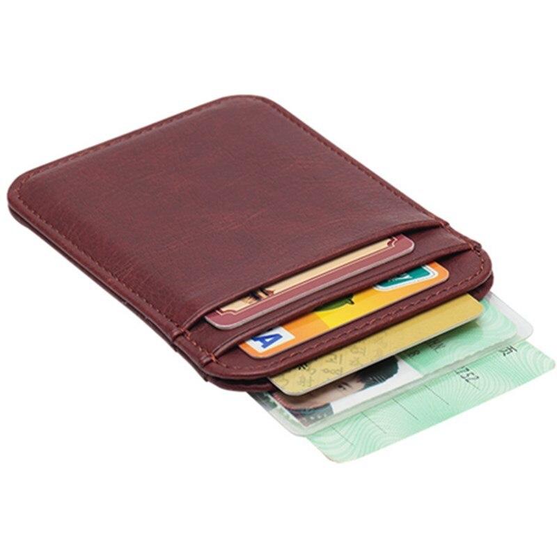 Titular do Cartão de Identificação Cartão de Crédito Titular do Cartão de Negócios Multi-cartão de Motorista Cartão de Identificação Portátil Clássico Vertical Mini Sólido Pacote