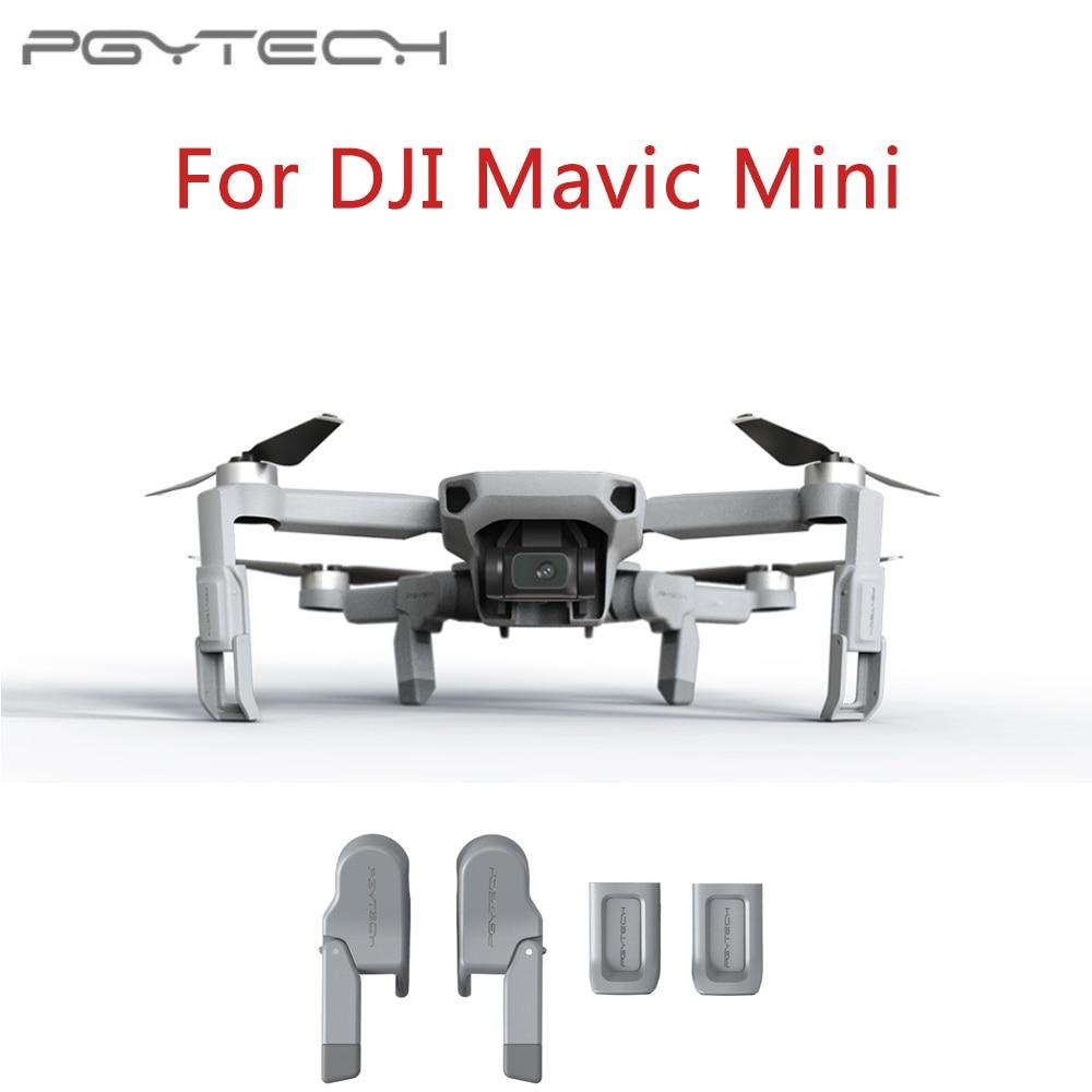 PGYTECH Landing Gear Leg For DJI Mavic Mini Skid Heightened Shock-absorbing Stabilizers Leg for For DJI Mavic Mini Accessories