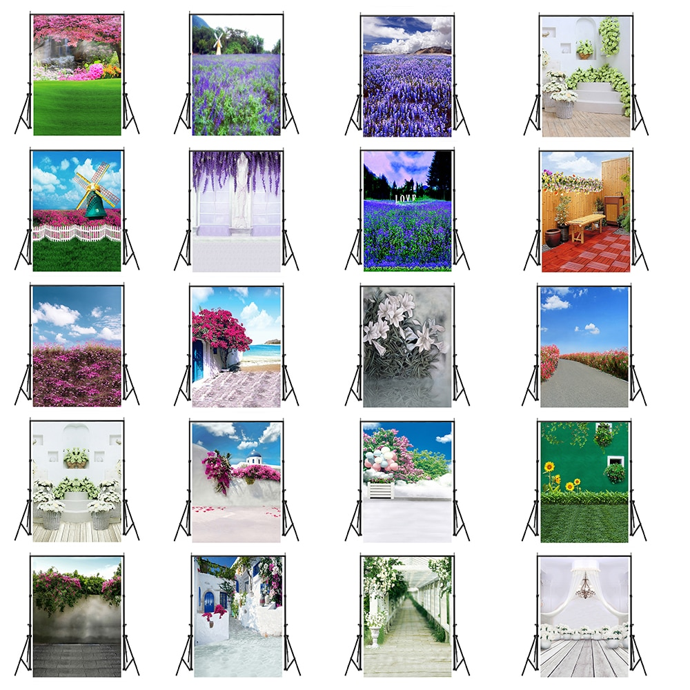 60x84 Inches Flower Style Photography Backgroud for Wedding Baby Birthday Party Decoration Wall Photo Backdrop Studio Props