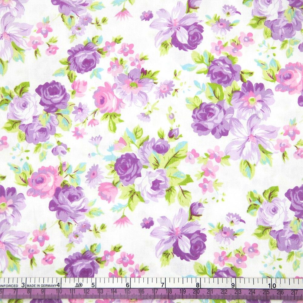 50*145cm flores estampado con combinación de varias telas 100 por ciento tela de algodón para tejido niños ropa de cama textil para coser muñeca Tilda, c1986