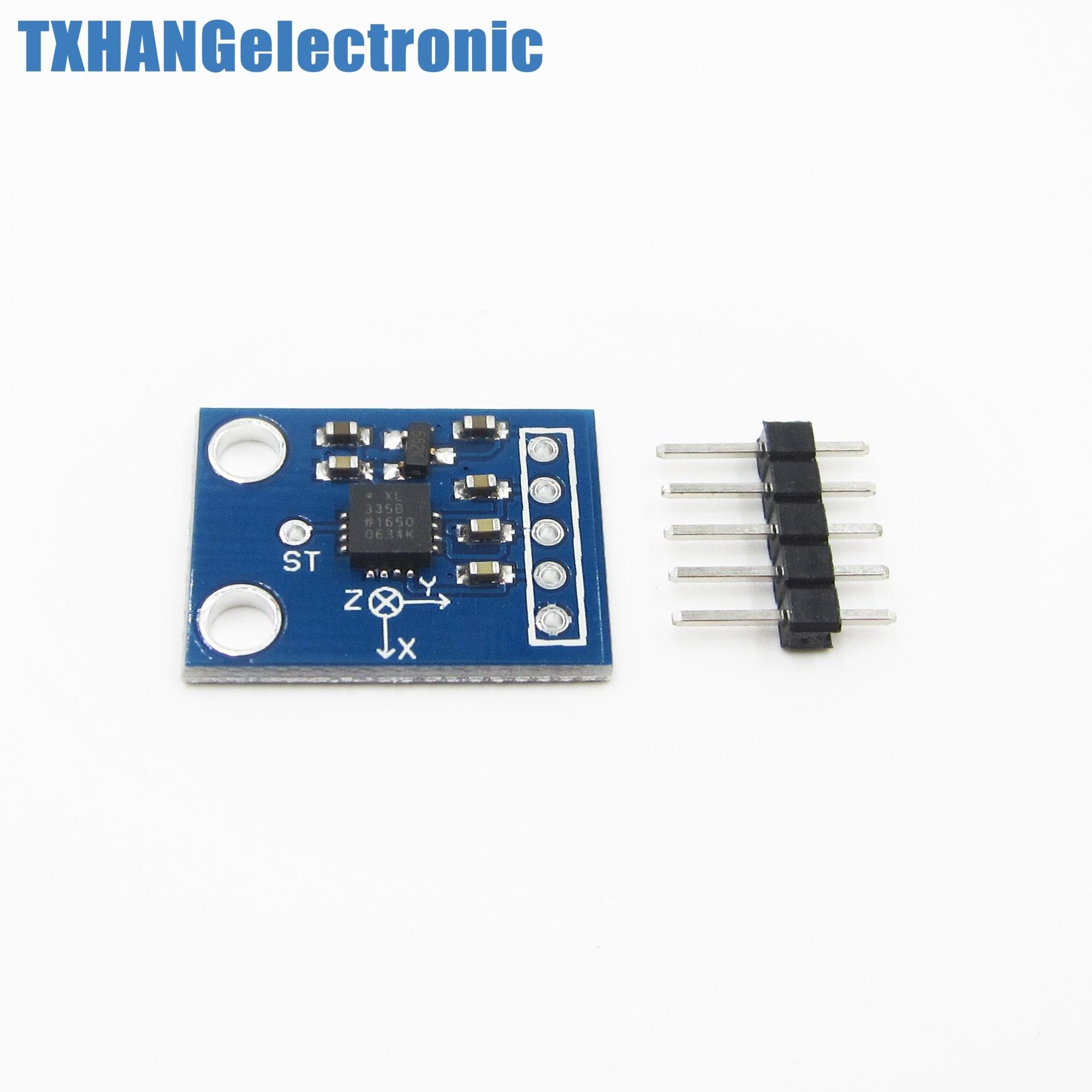 10 Uds. ADXL335 módulo de acelerómetro de salida de 3 ejes transductor angular diy electronics