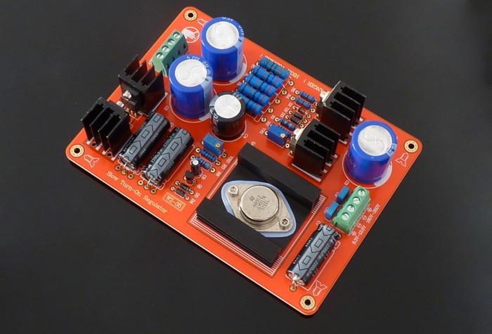 WZ-35 design original circuito de tubo de elétron de alta tensão/ajustável estabilizado placa de alimentação para bile preamp