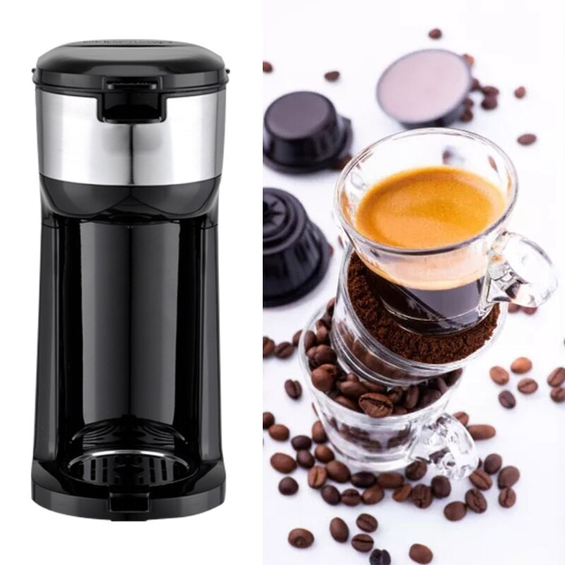 American Home Automatic Brewing Small Appliance Coffee Machine With Overheating And Dry Burning Safety Protection 19QE
