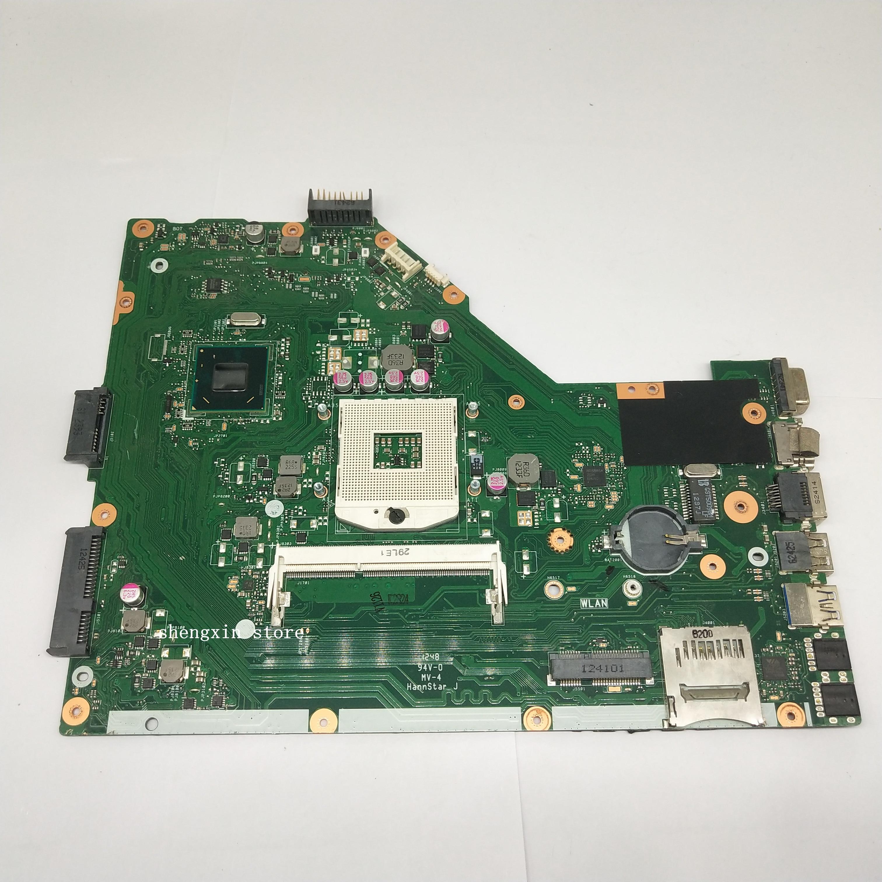 Para ASUS X55A placa madre del cuaderno HM70 REV 2,1/2,2 X55A placa base de computadora portátil prueba 100%