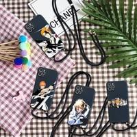 anime japan bleach kurosaki ichigo phone case for iphone 7 8 11 12 se 2020 mini pro x xs xr max plus
