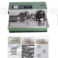 automatic ink wheel marking machine production date serial number food plastic film bag package colored printing coding machine