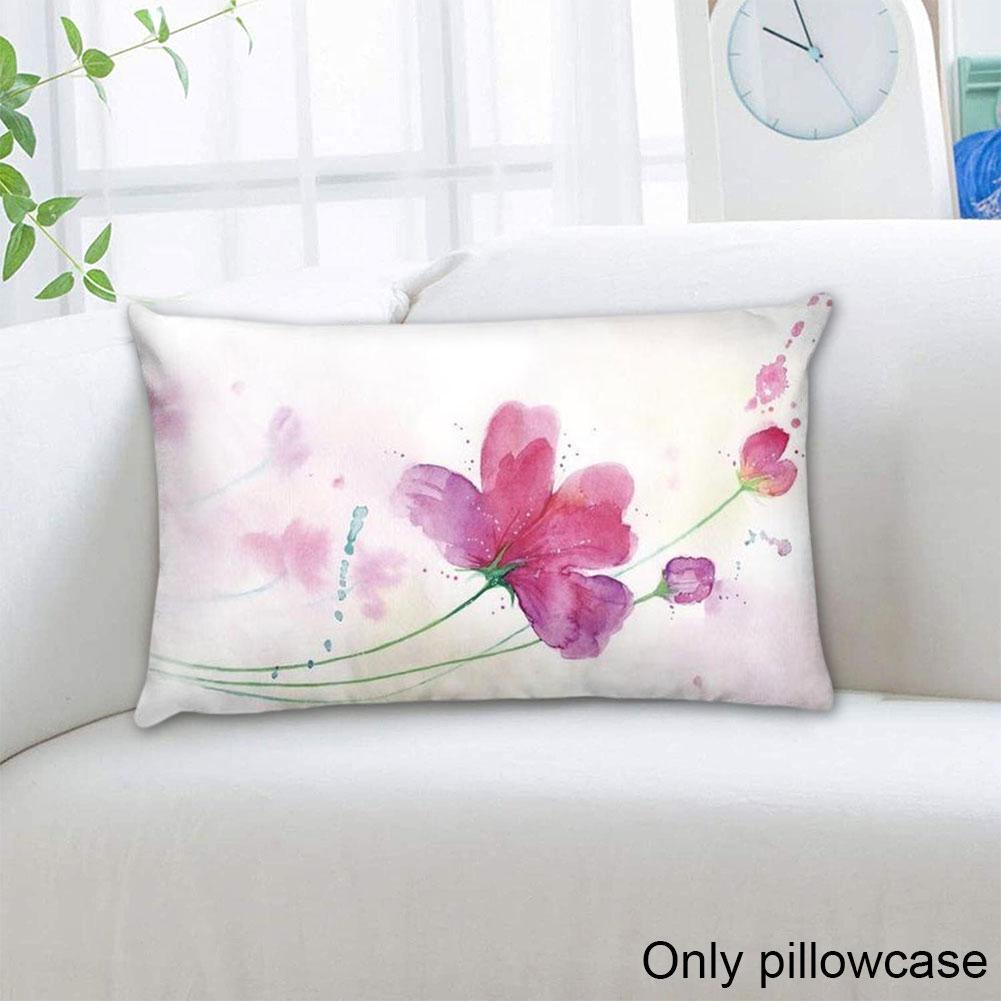 Funda de cojín de bambú de tinta para decoración del hogar, funda de almohada de coche para salón, sofá, sala de estar, Y2I7