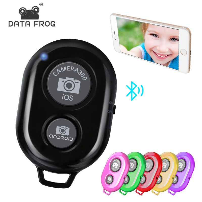 DataFrog Camera Bluetooth Remote Controller Photo Shutter Release For iOS/Android Camera Shutter Sel