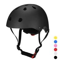 bicycle helmet multi sports safety helmet for kidsteenagersadults bike cycling skating skateboarding scooter helmet cap